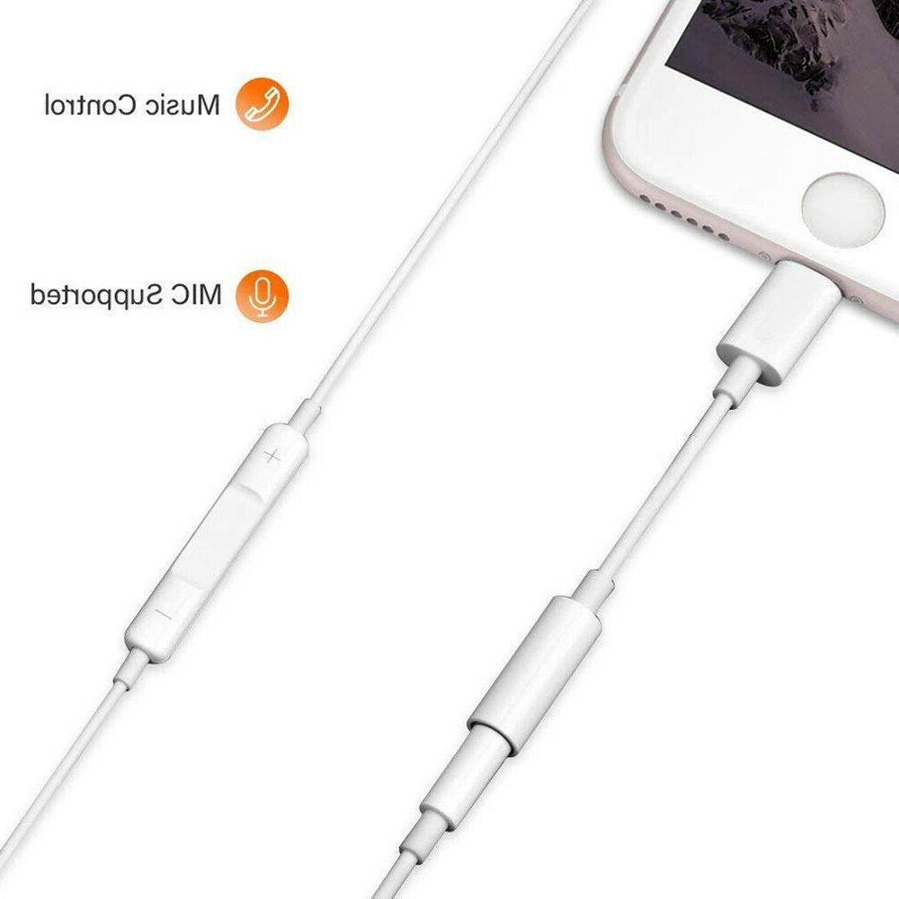 3.5mm Lightning Jack Connector Cable For XS Max