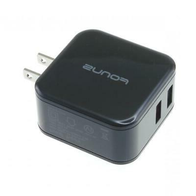 30W ADAPTIVE FAST 2-PORT USB WALL CHARGER COMPACT for PHONE / TABLET