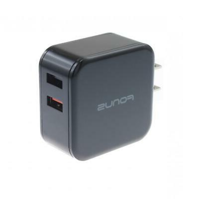 30W ADAPTIVE FAST 2-PORT USB CHARGER / TABLET