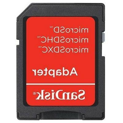 SanDisk 32GB HC TF Memory Card with SD