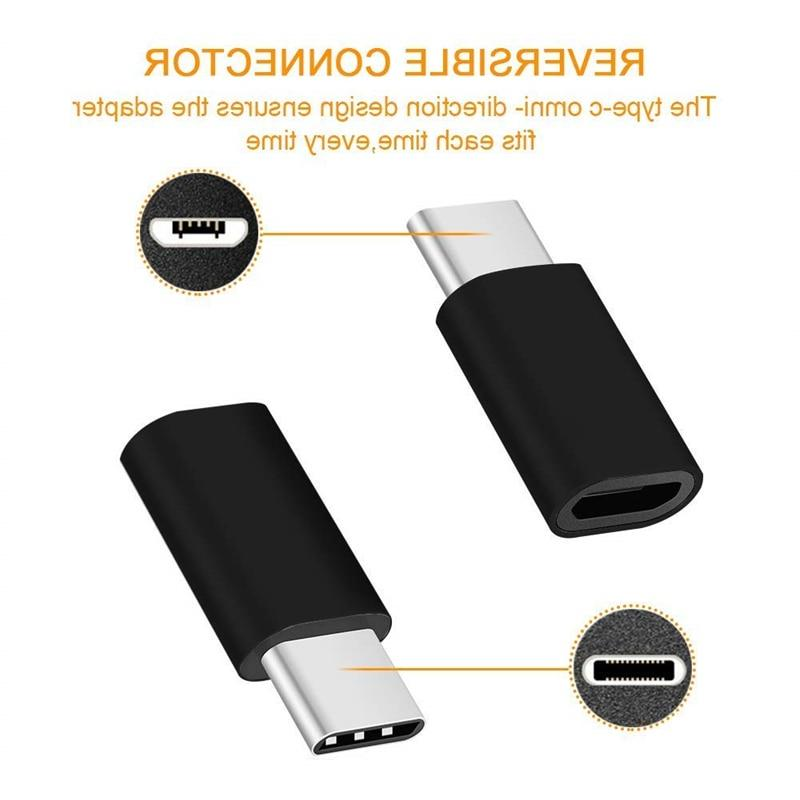 3PCS <font><b>USB</b></font> Type C <font><b>Android</b></font> Phone Cable Xiaomi To Usbc Adapter Data
