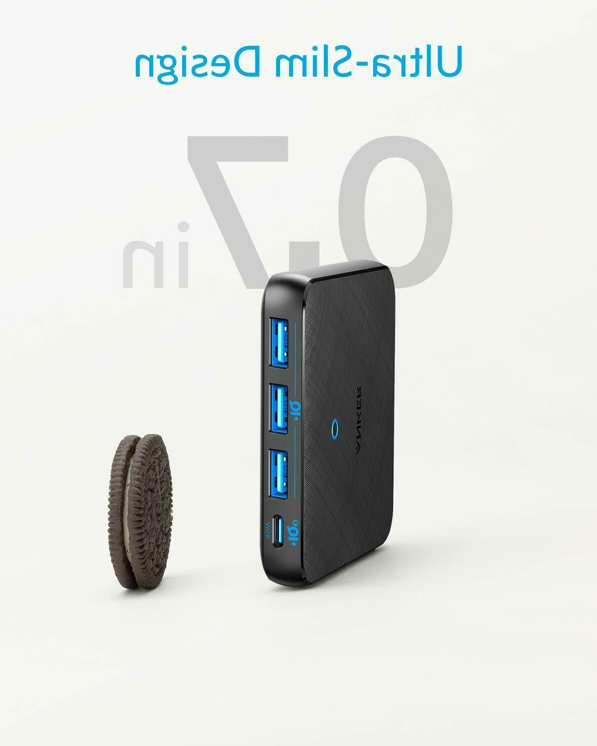 Anker 65W 4 PIQ 3.0 Fast Wall Charger Port