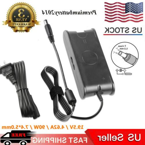 90w ac adapter battery charger for dell