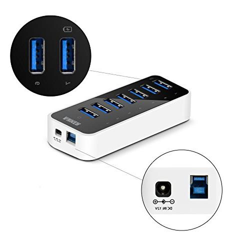 Anker 3.0 Hub with BC 1.2 Port up to 1.5A, 3A Power Included