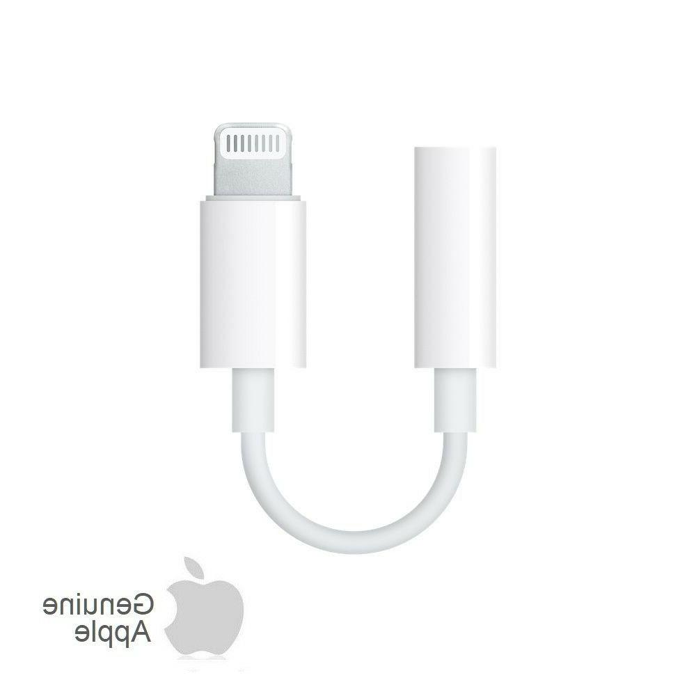 Apple Lightning to 3.5 mm Headphone Jack Adapter Original OE