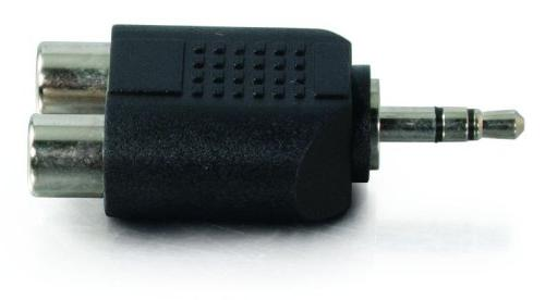 C2G 40645 3.5mm Male To Dual Female Audio Compliant,