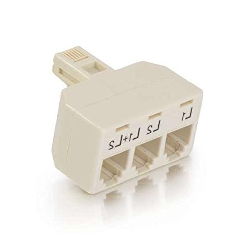 C2G 41062 Two Line Telephone Splitter L1 + L2