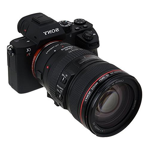 Fotodiox Pro Adapter - Canon EOS D/SLR to Alpha E-Mount Mirrorless Camera Body