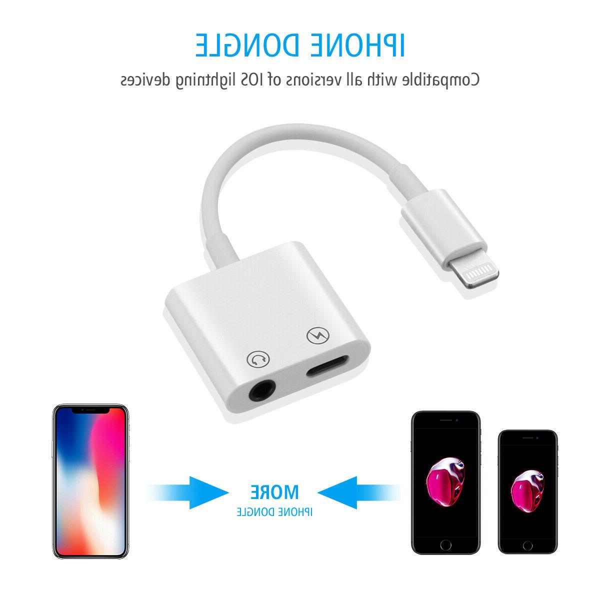 Dual iPhone Charger Headphone for Apple 8 X XS