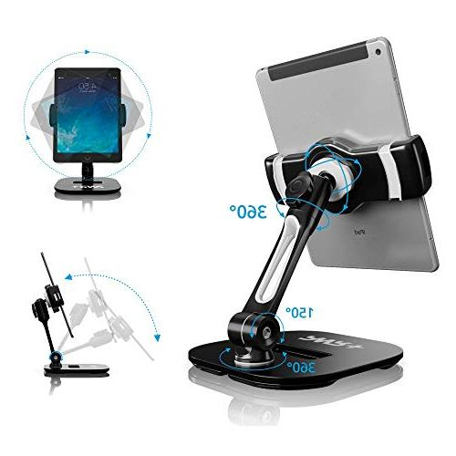 Tablet Stands Holders Adjustable: Pwr Cell for iPad Samsung Galaxy Perfect POS Office Table