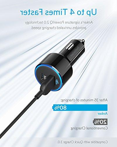 USB C Anker One 30W Port for MacBook iPad XS/Max/XR/X/8, and 19.5W Fast Port for S9/S8 and More