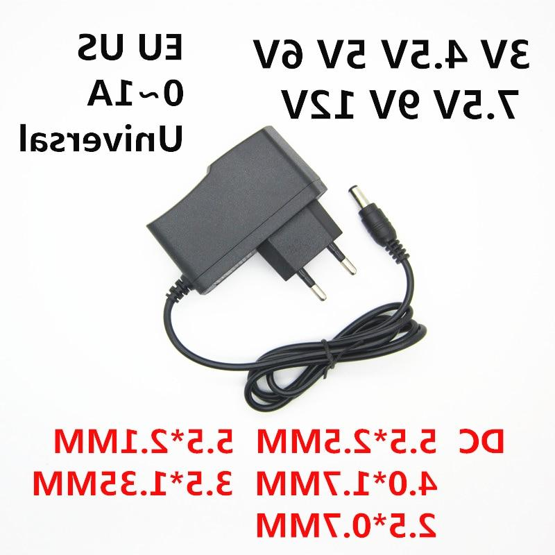 AC 110-240V 3V 4.5V 6V 7.5V 9V 0.5A 1A LED Universa 12 Volt Converter <font><b>power</b></font> supply
