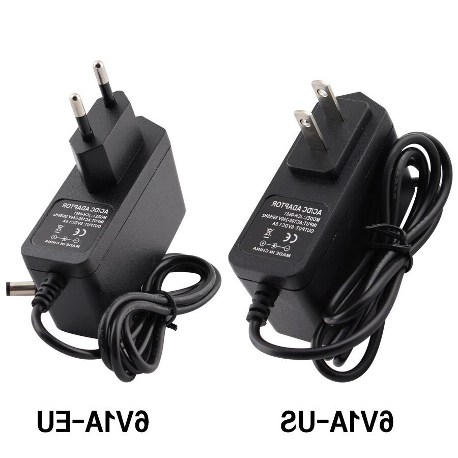 AC DC DC 3v 6v 8.5v 10v 12v 14v 15v <font><b>Power</b></font> Supply Charger US Led Lamp