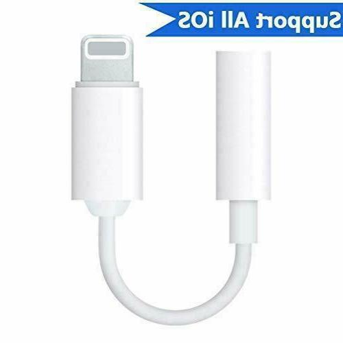 For Apple Headphone Adapter Jack to 3.5mm Cord