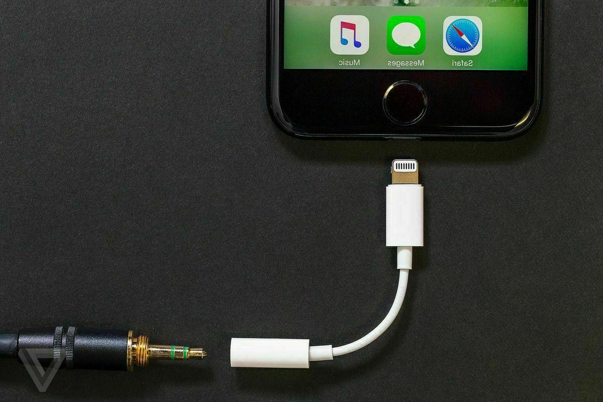 For Headphone Adapter Lightning 3.5mm Cord Dongle