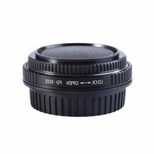 Adapter For Canon FD Lens to EOS EF Mount DSLR with Glass Fo