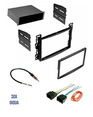 ASC Audio Car Stereo Dash Kit, Wire Harness, on
