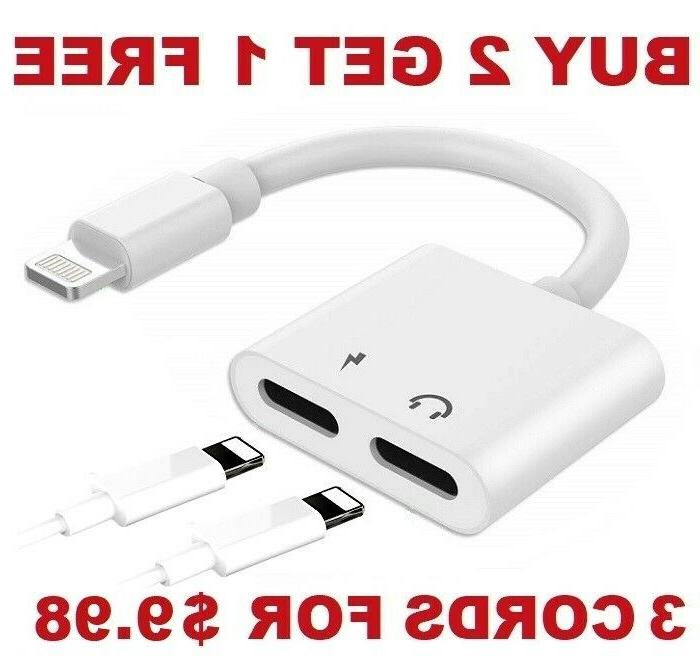 dual adapter for iphone 2 in 1
