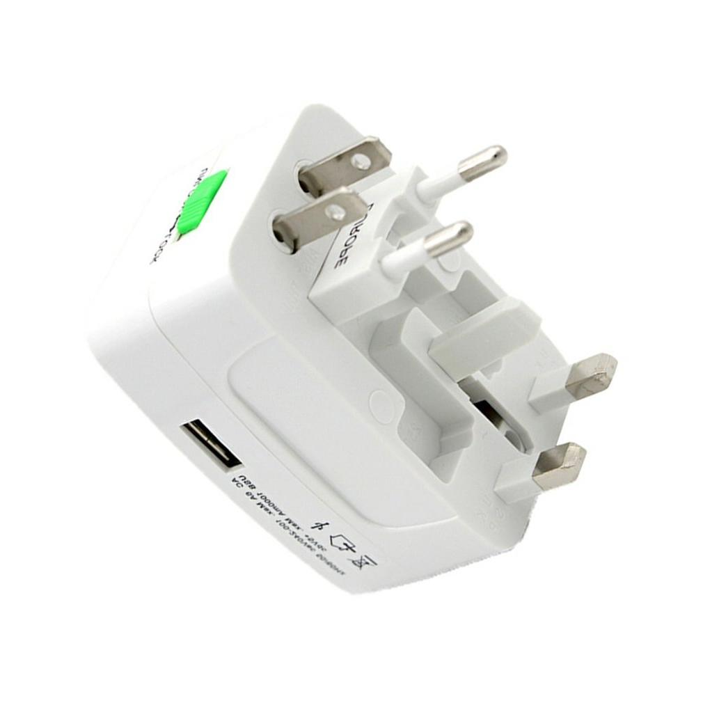 Electric Plug <font><b>Adapter</b></font> International <font><b>Travel</b></font> <font><b>Adapter</b></font> Universal <font><b>Travel</b></font> Socket USB <font><b>Power</b></font> UK US AU