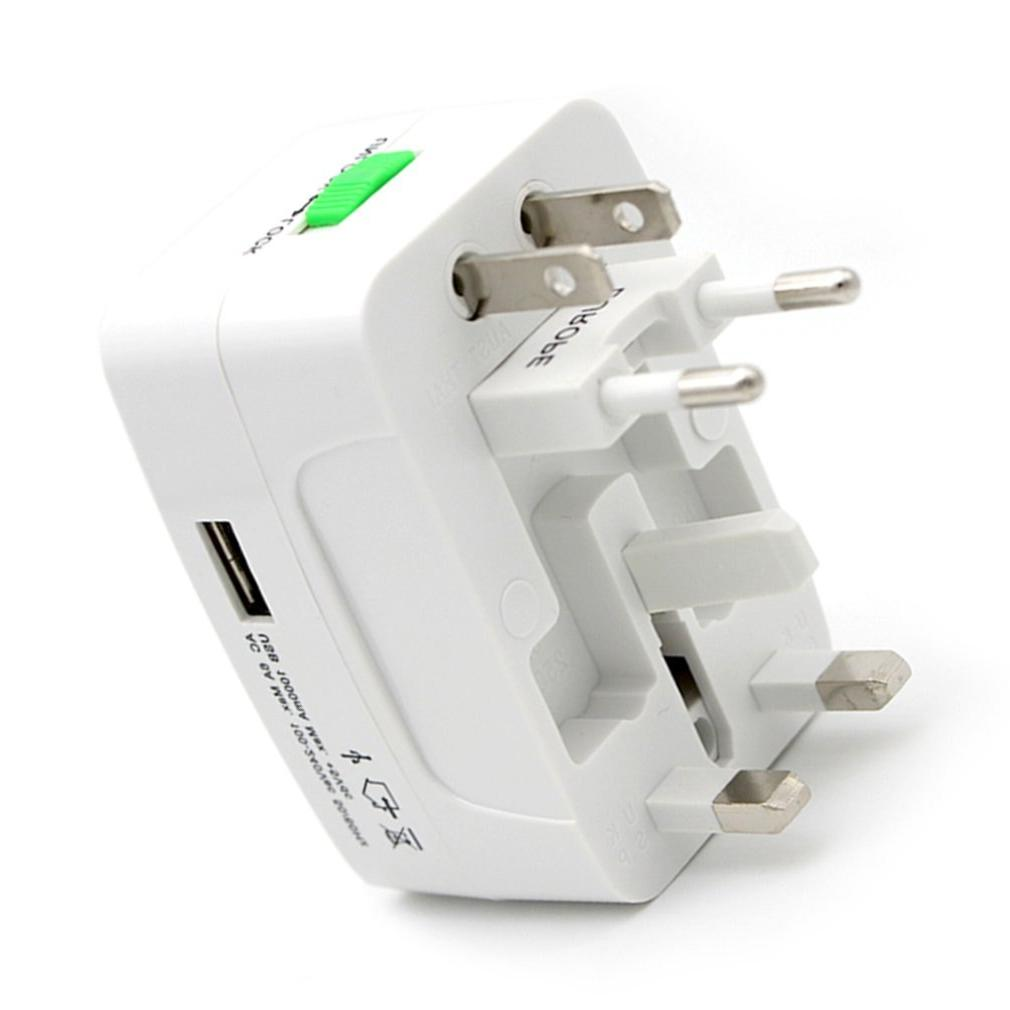 Electric <font><b>Power</b></font> <font><b>Adapter</b></font> International <font><b>Travel</b></font> Universal USB <font><b>Power</b></font> Charger UK AU