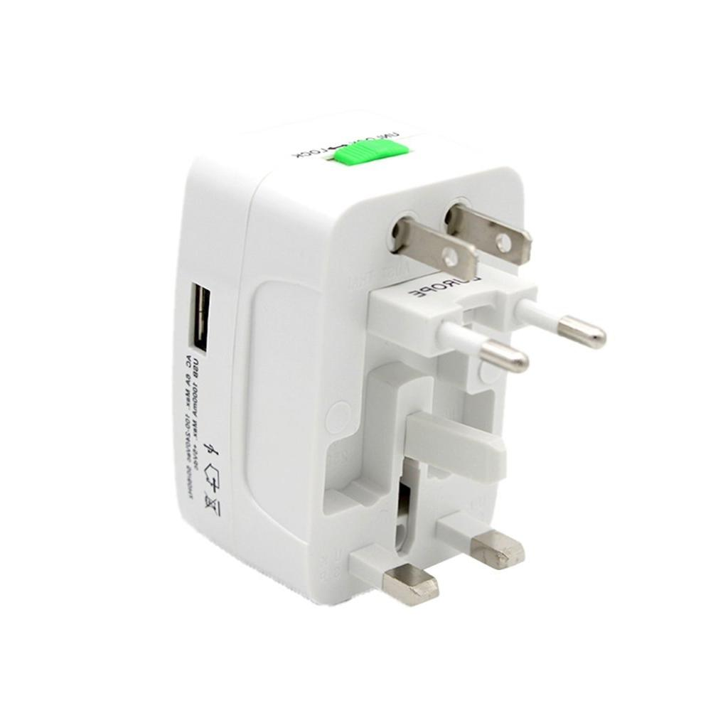 Electric Plug <font><b>Adapter</b></font> Universal <font><b>Travel</b></font> <font><b>Power</b></font> Charger UK US