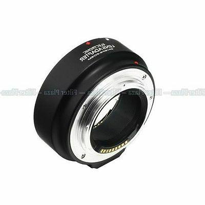 Electronic AF Auto Focus Adapter for Canon EF EF-S lens to E