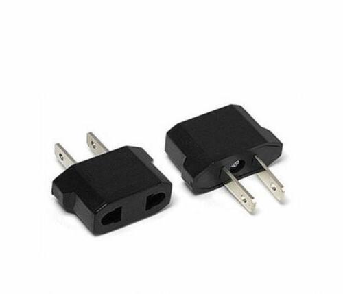 EU Europe Euro USA US AC Charger Power Plug