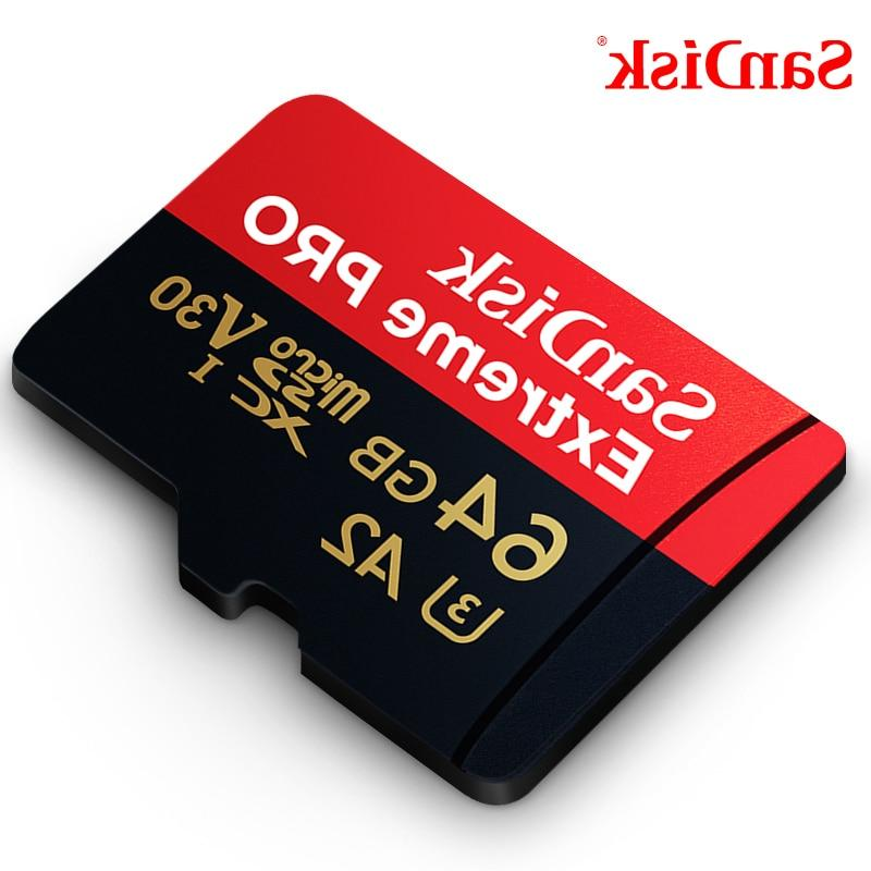 Extreme Pro 64GB 32GBmicroSDHC Memory micro SD Card TF Card Class10 U3 With SD <font><b>Adapter</b></font>