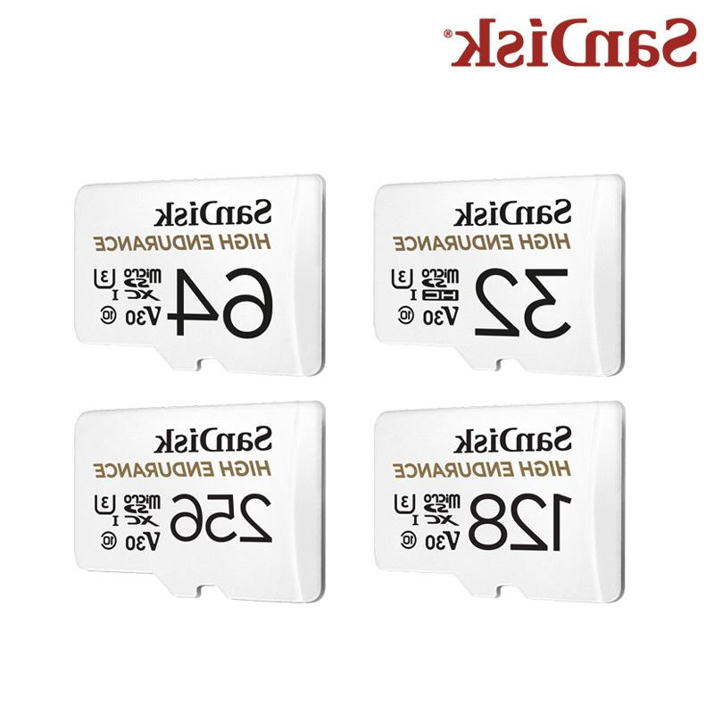 <font><b>SanDisk</b></font> SD Card 32GB 128GB Memory With Flash For Surveillance Camera