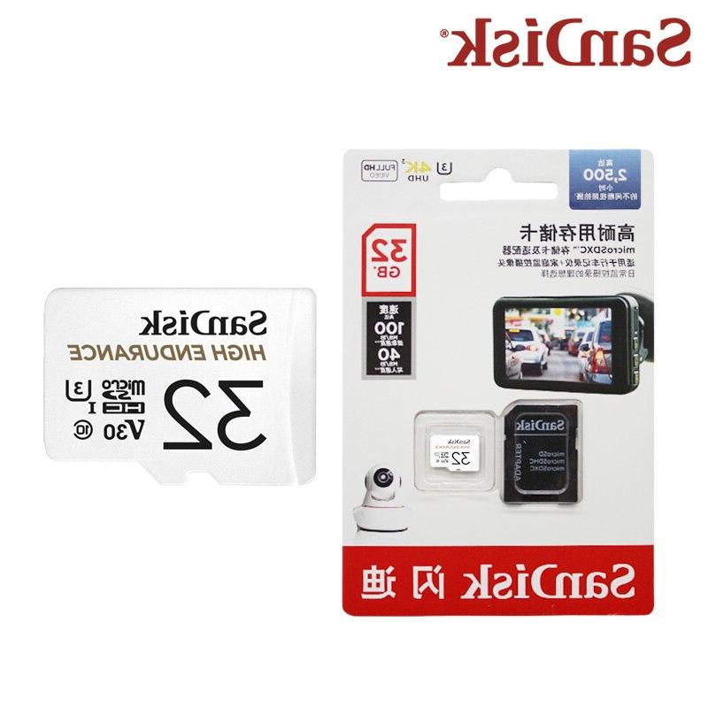 <font><b>SanDisk</b></font> High Endurance SD 64GB 128GB Memory Card With For Surveillance Camera System