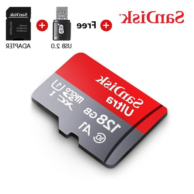 <font><b>Sandisk</b></font> card 128GB card card 100mb/s read card with free
