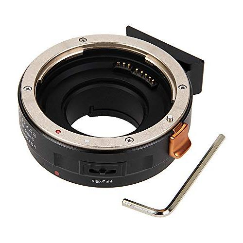 Fotodiox Pro Fusion Adapter Compatible EOS Lenses Micro Four