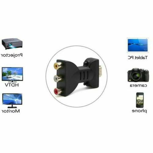 HDMI Male 3 Video Adapter for