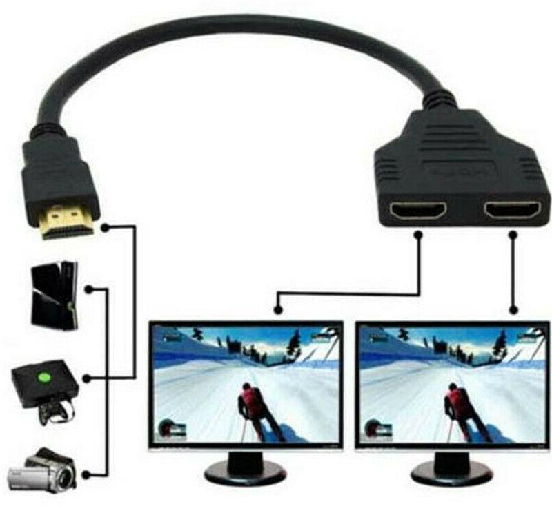 HDMI 1 Input Male to Output Converter 1080P