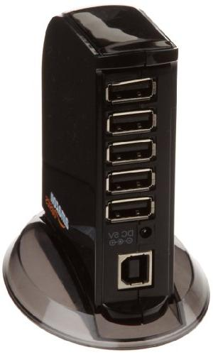 AmazonBasics 7 Port USB 2.0 with 5V/4A Power