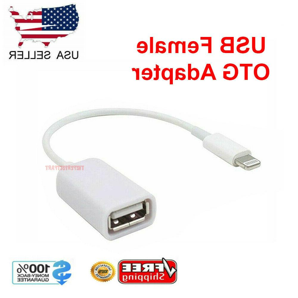For 5s 6 8 Pin Male To USB Female Cable