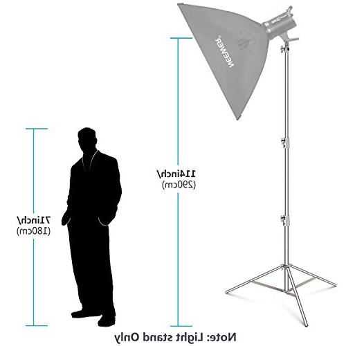 Neewer Light Stand Centimeters Steel Duty with 3/8-inch Adapter for Studio Other Equipment