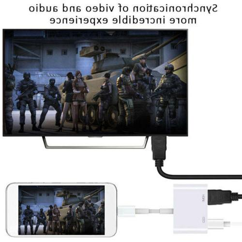 Lighting to Cable Digital For iPhone 6/7/8 Plus iPad CN