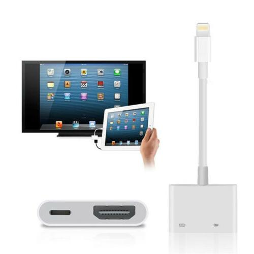 Lightning AV For Apple iPad X 7 Plus