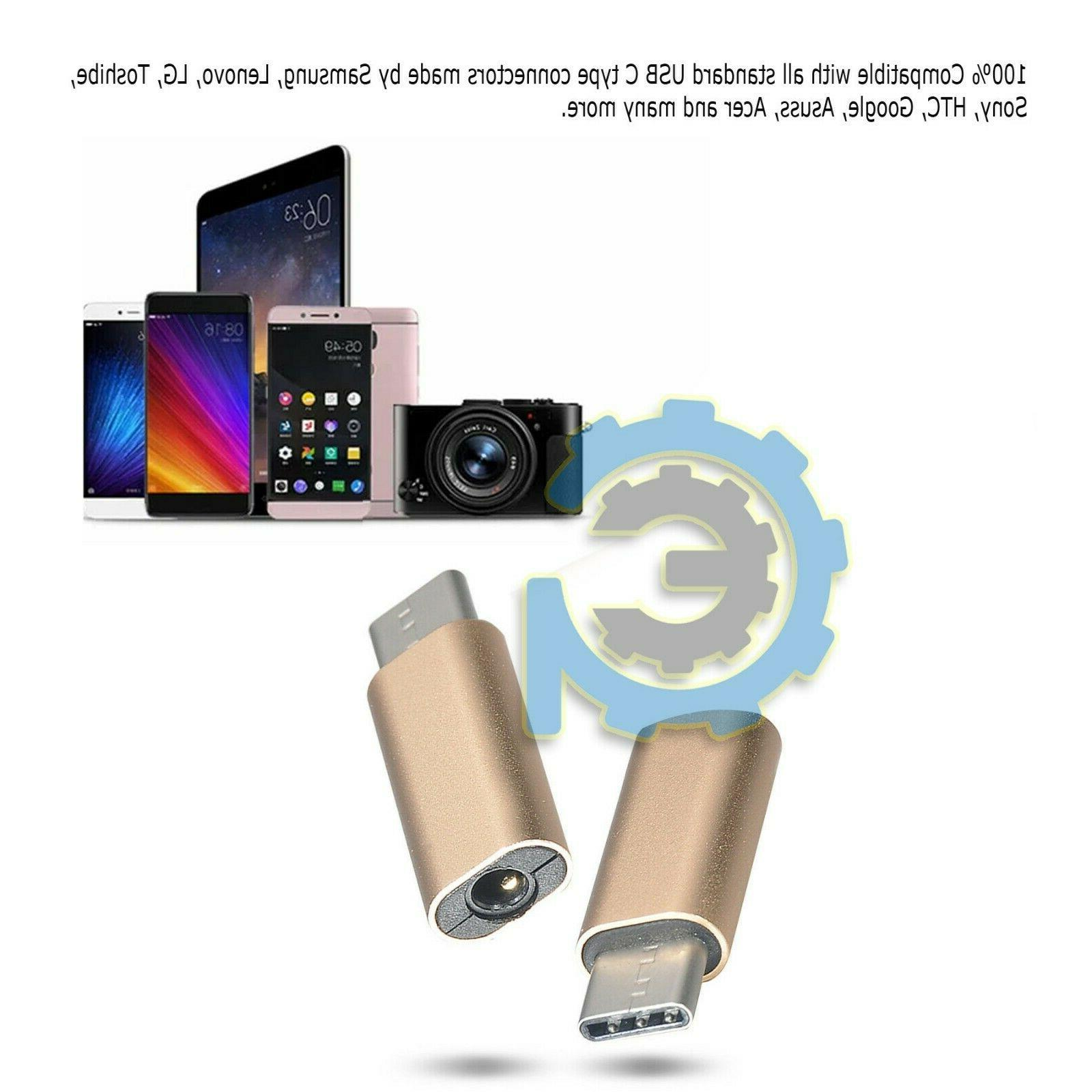 Metal Type-C AUX Jack Earphone Headphone Audio Adapter