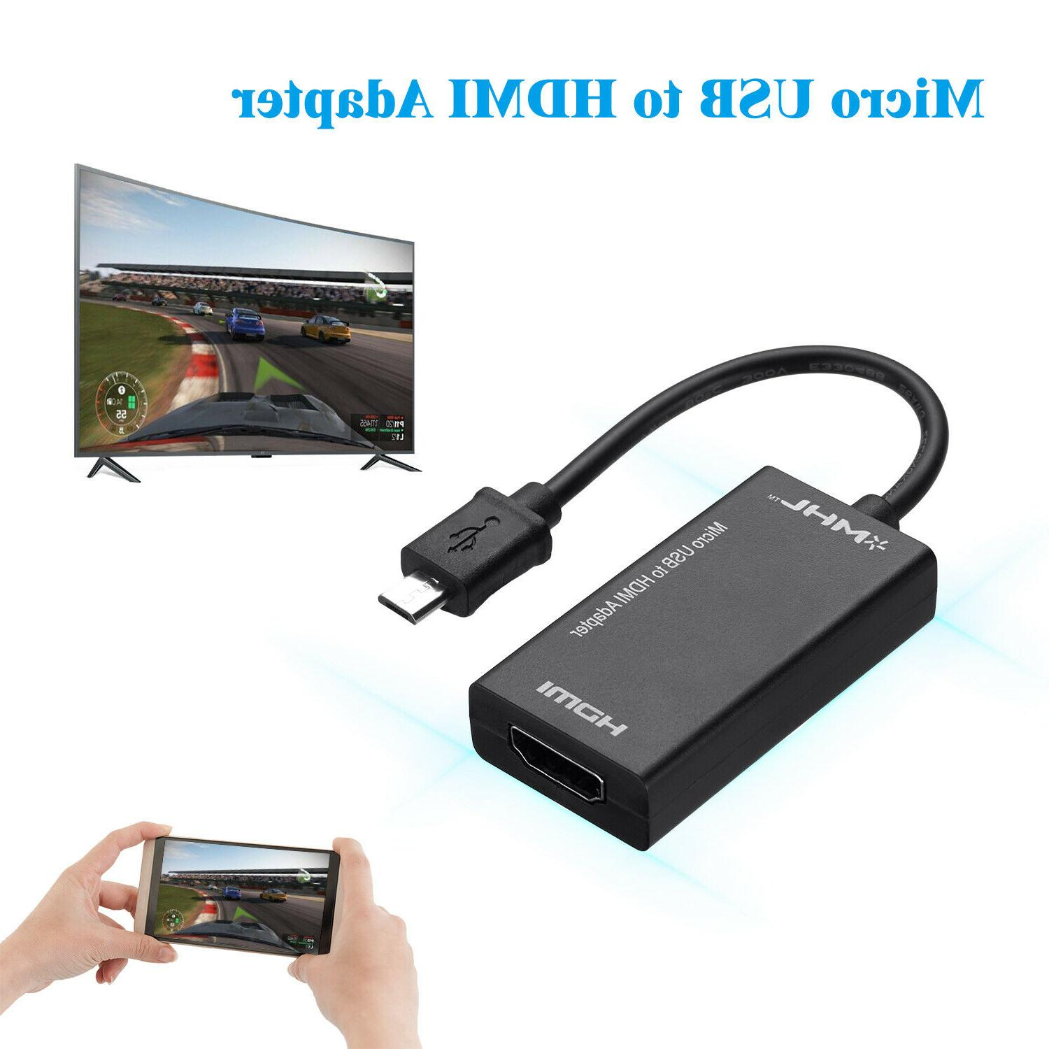 MHL to Adapter for Tablet TV