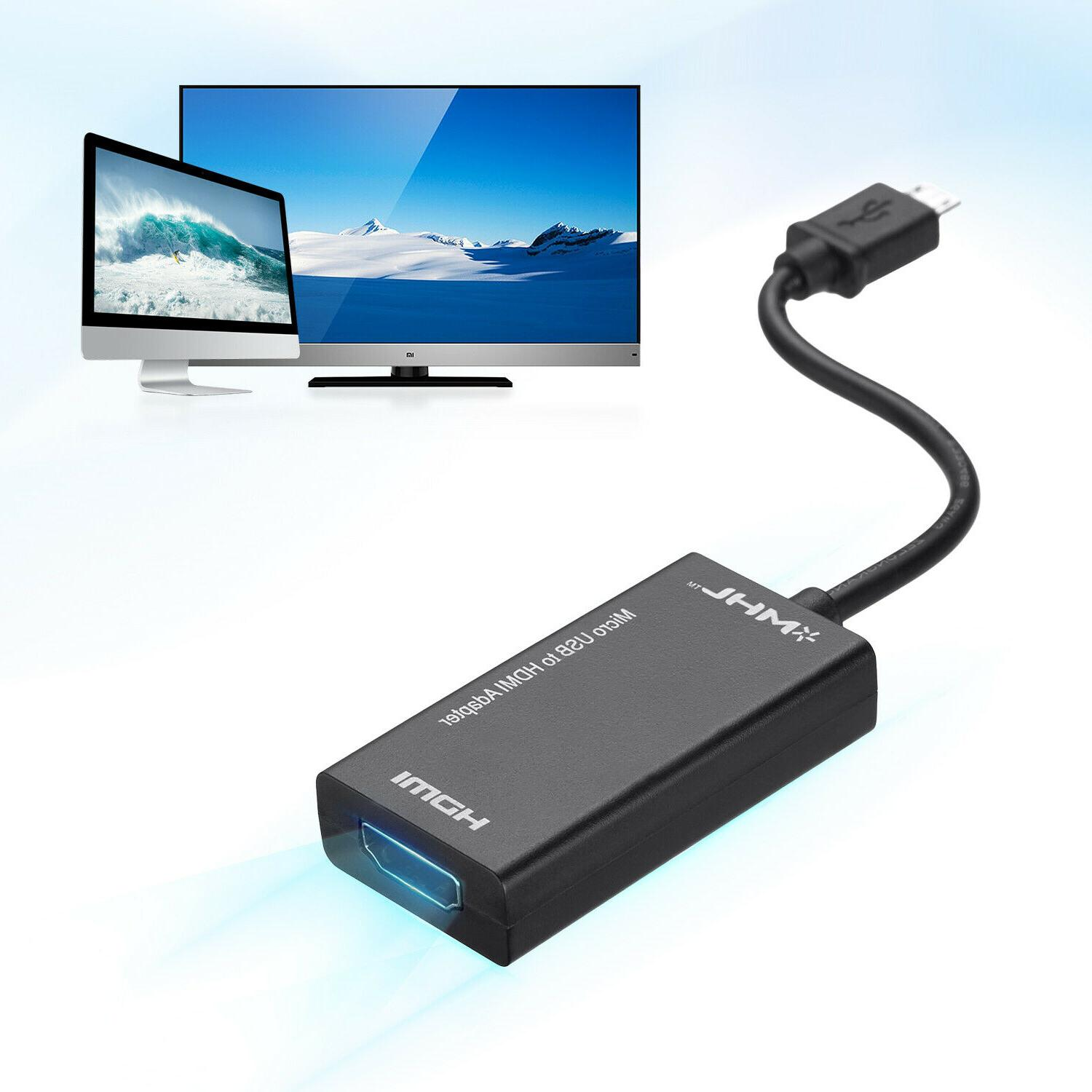 MHL Micro USB to HDMI Cable for Tablet