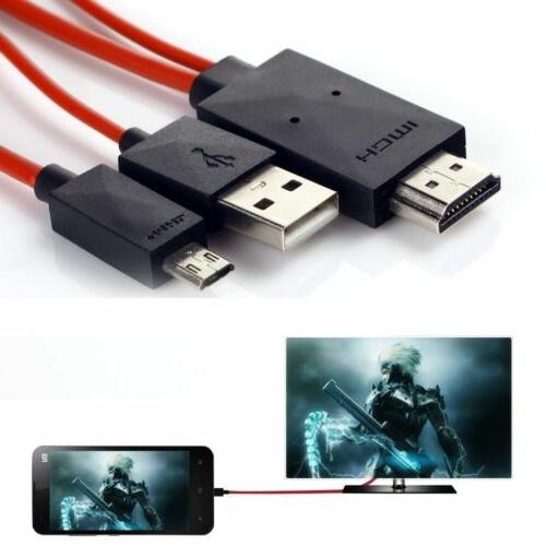 MHL Micro HDMI HDTV Adapter for S5