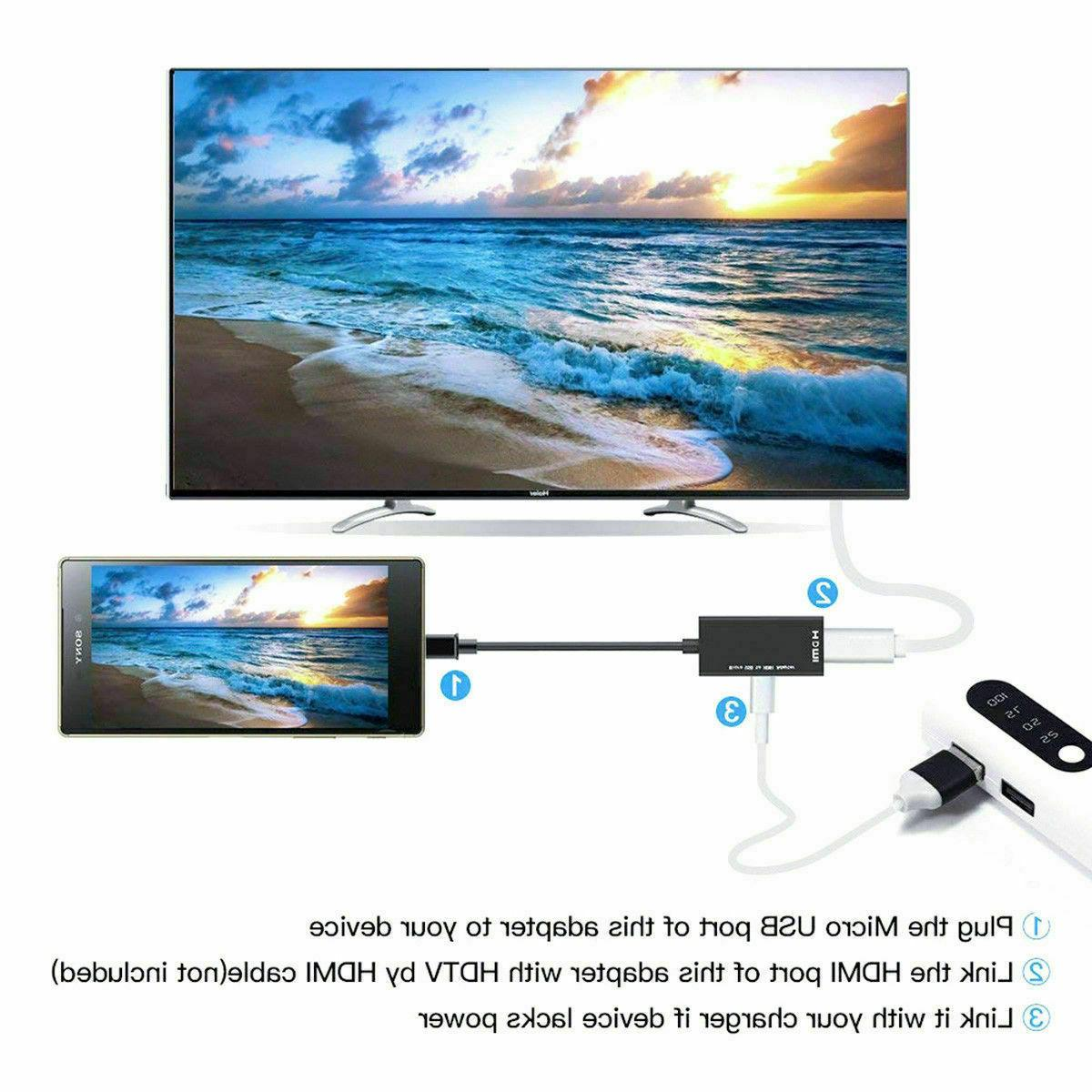 MHL HDMI for HD TV