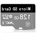 128GB microSDXC Card with Adapter,Ideal for premium Android