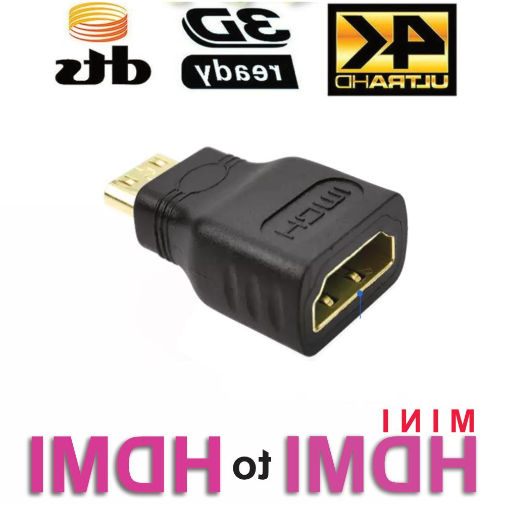 mini hdmi male to standard hdmi female