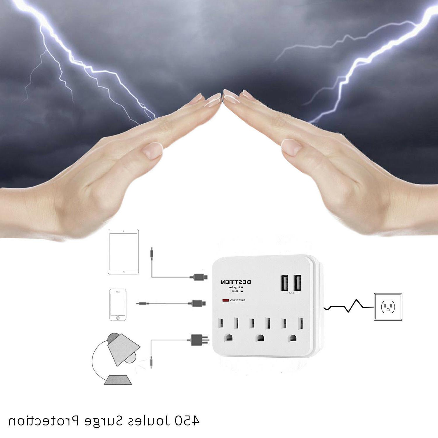 Multi Wall Tap Protector Charger