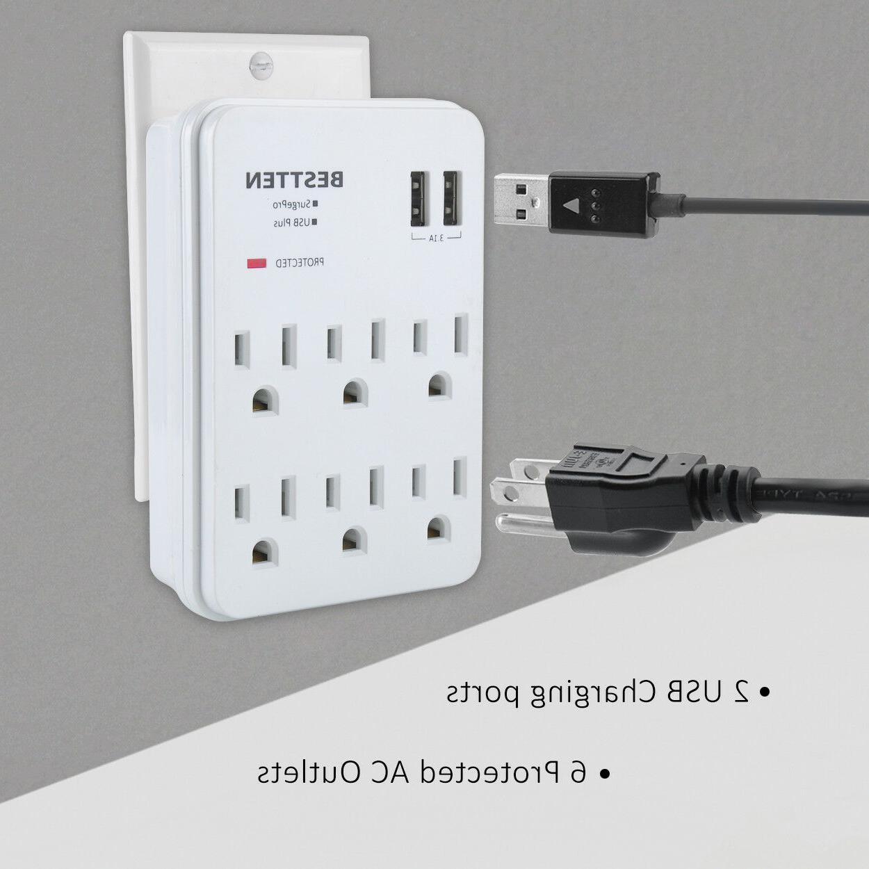 Adapter Outlet Plug 2 Ports