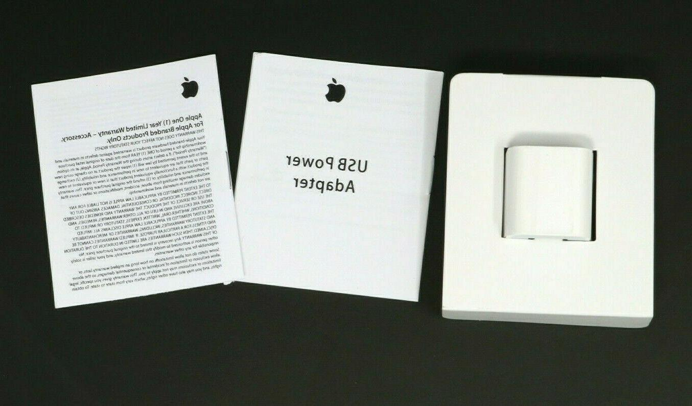New iPhone Wall Adapter Cube A1385