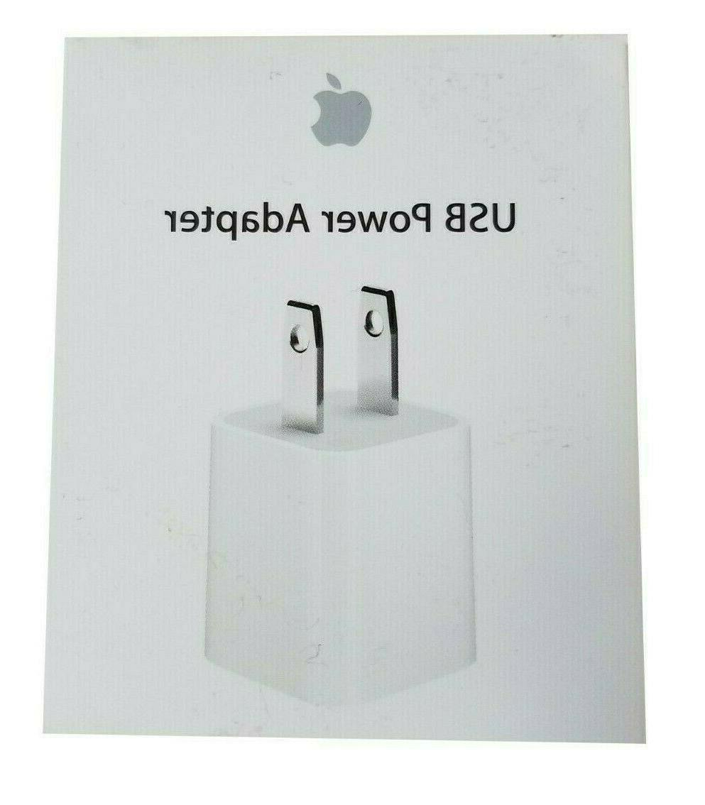 new oem authentic iphone 5w wall charger